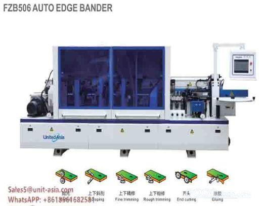 Automatic high speed edge banding machine
