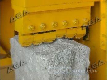 stone breaking machine for cutting stone