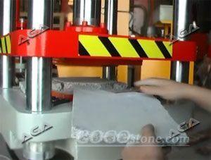stone pressing machine
