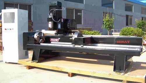 Rotary Stone/ marble/ granite CNC carving machine