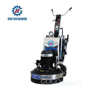 High Tech Grinding Concrete Floor Grinding Polishing Machine  HTG-680-4