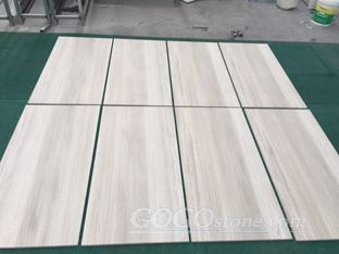 Wooden White / Haisa Light Marble Slab Tile
