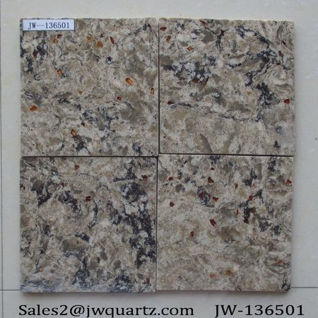 engineered artificial quartz countertop