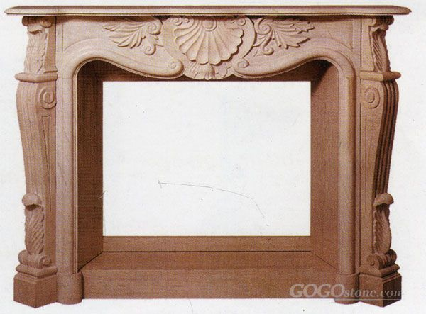 Italia style Marble Fireplace