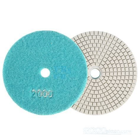 Sharpness CBN Diamond Polishing Pads Diamond Sanding Disc for Granite Concrete Marble Stone