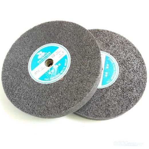 Sharpness 9P Fiber Polishing Buffing Wheel 400 Grit Nylon Abrasive Grey