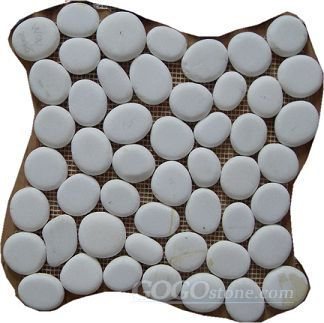 White Pebble mosaic