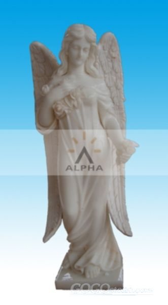 Marble Angel Sculpture