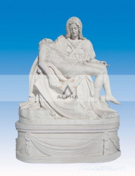 Marble statue of Pieta