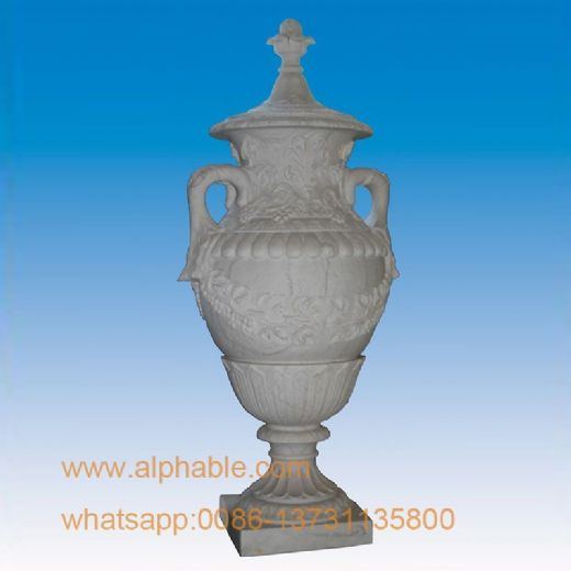 Decorative Marble Flowerpot