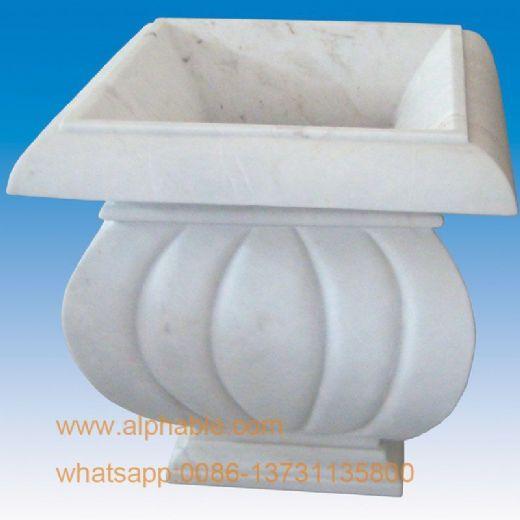 Modern Design Marble Flowerpot
