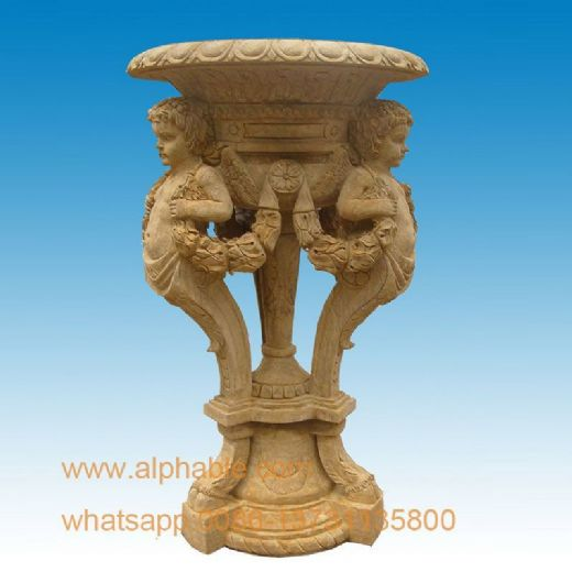 Nice Statue Design Marble Flowerpot