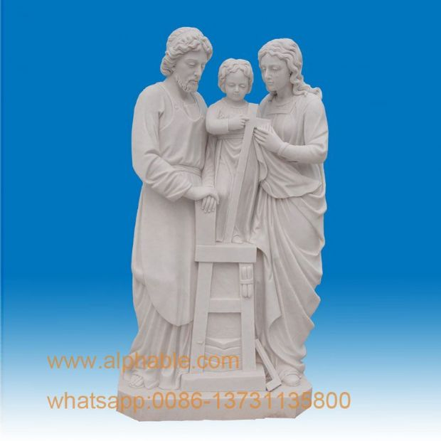 SS-344 Holy family statue