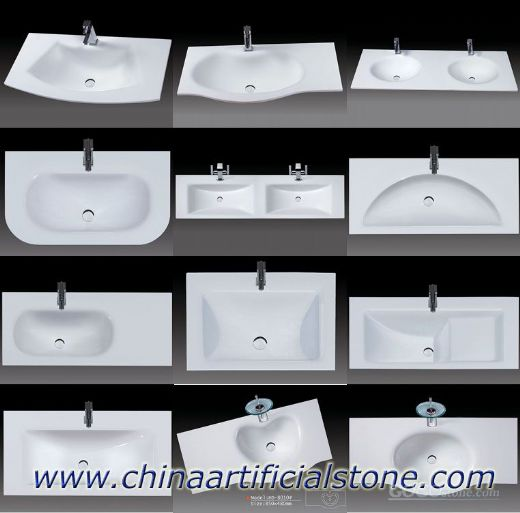 Crystallized Glass Stone, Marmoglass Lavabo