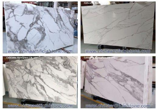 Calacatta White Nanoglass Marble