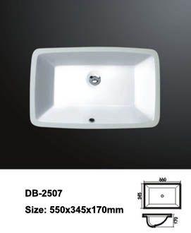 Undermount vanity basin
