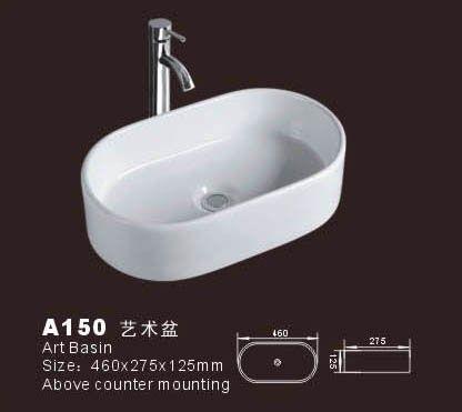 Bathroom basin sink