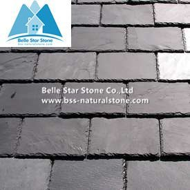 Black slate roof tiles,roofing slate,slate roof,roof materials