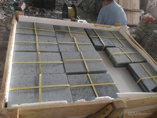 Green Sukabumi Stone - The Great Bali Pool Tiles