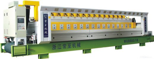 WQB Automatic polishing machine for granite