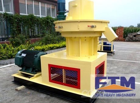 Best Performance Ring Die Sawdust Pellet Mill