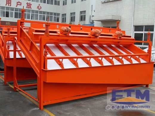 High Frequency Vibrating Screen For Mining Processing