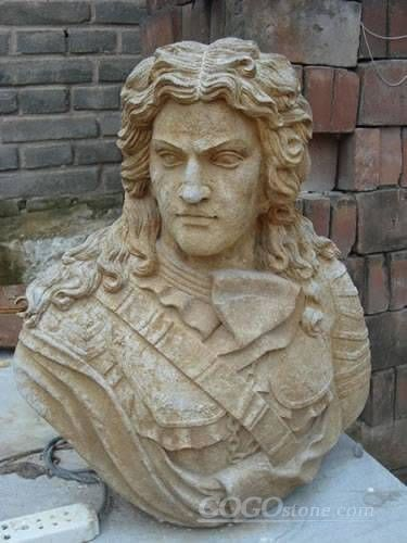 antique marble head statue bust