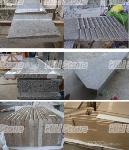 Natural stone windowsills