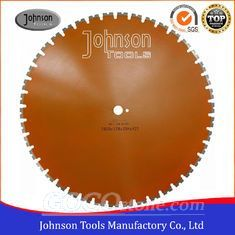 Double U Shaped Segmented Diamond Saw Blade For Dry / Wet Cutting