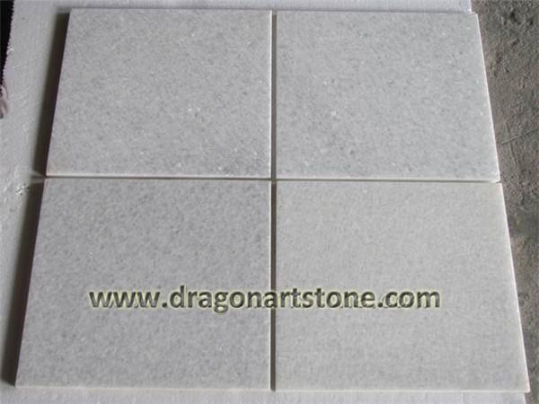 Crstal white marble tile