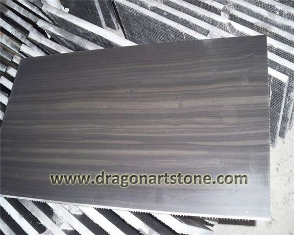 Brown wood grain marble cut to size tile