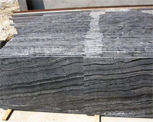 Antique wood grain marble slab