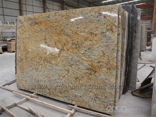 2013 Chinese New Material Golden Crystal Granite