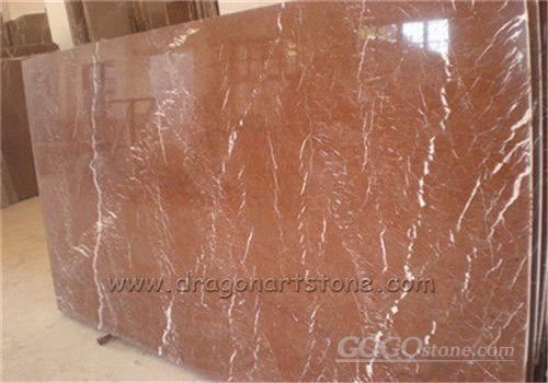China Red Alicante Marble,Rossa Red Marble Slab