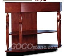 Fashionable red bathrom furniture