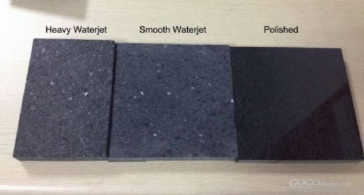 Starry Black Granite Tile for Wall Cladding