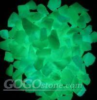 glow gravel stone