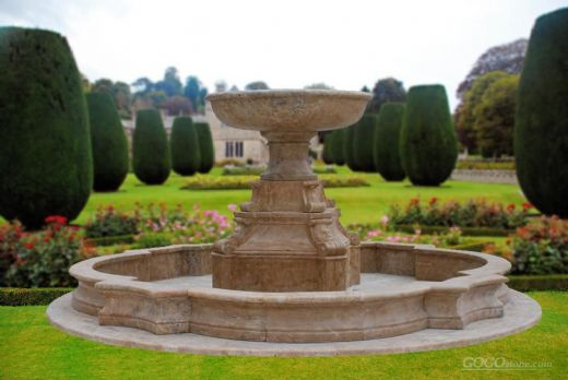 Gold Travertine Fountain MAF295