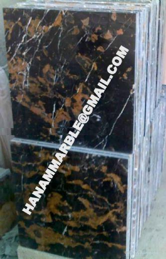 Black & Gold Marble Tiles