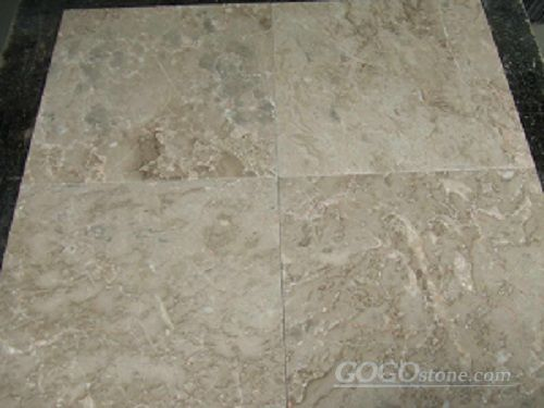 Wall Decoration Beige Marble Tiles