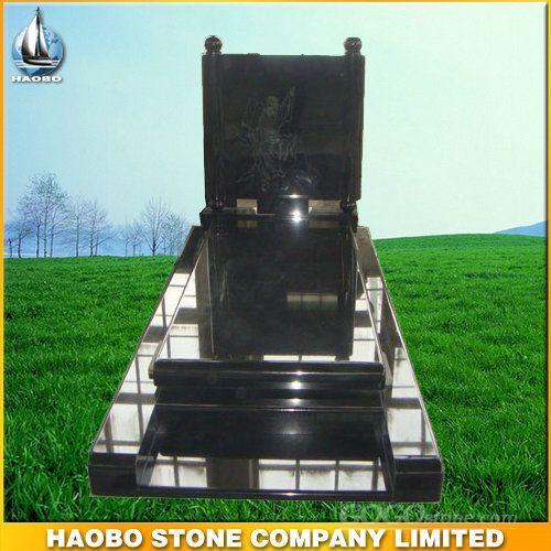 Black Granite Tombstone HBMRO009