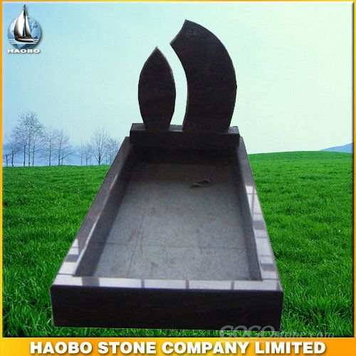 Granite Tombstone in Romanian Style