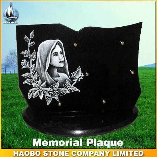 Pretty Funeral Plaque