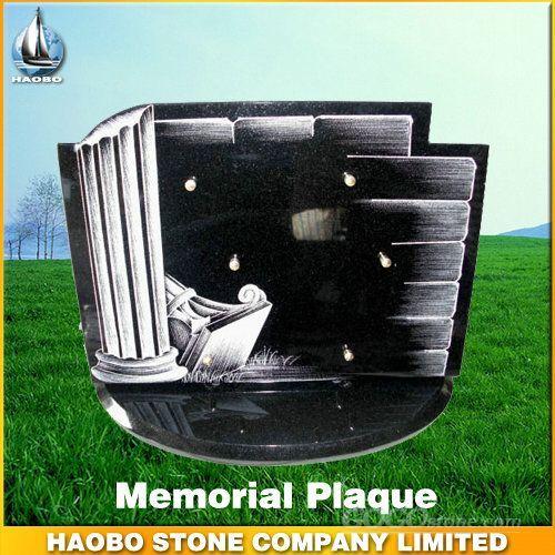 Unique design tombstone plaque