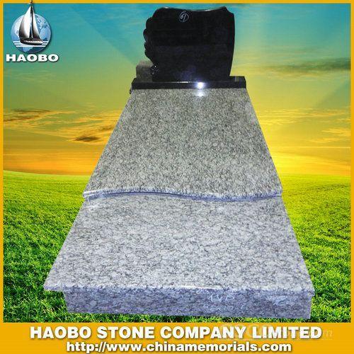 Slovakia Grey Granite Tombstone HB