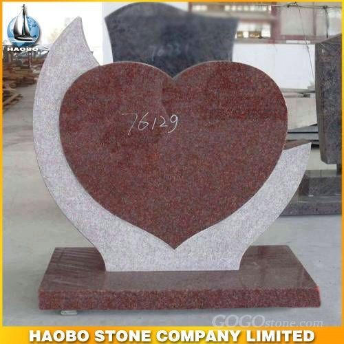 Indida red heart monument