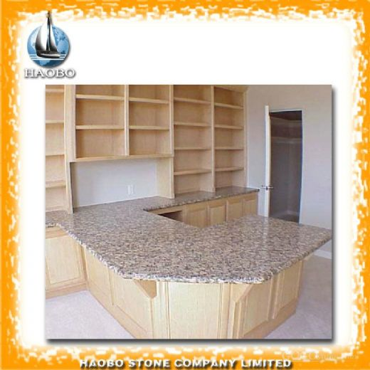 Tiger Skin Yellow Granite Counter top Wholesale from China