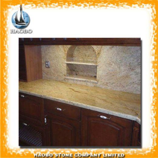 Kashmir Gold Granite Kitchen Bench Top Table