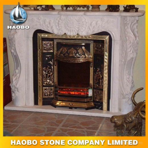 Free Standing Indoor Fireplace Mantel