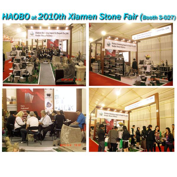 Haobo Stone at 2010th Xiamen Stone Fair